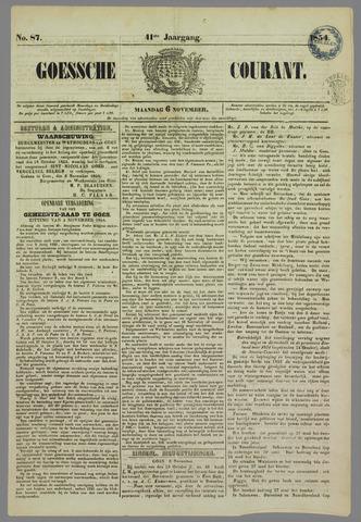 Goessche Courant 1854-11-06