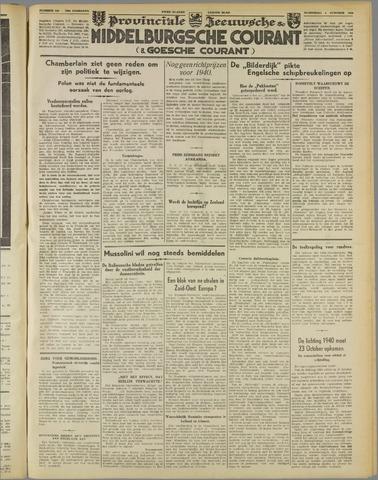 Middelburgsche Courant 1939-10-04