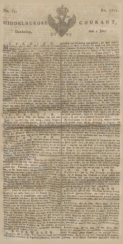 Middelburgsche Courant 1775-06-01