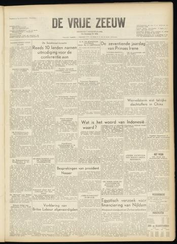 de Vrije Zeeuw 1956-08-07
