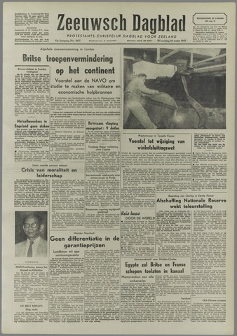 Zeeuwsch Dagblad 1957-03-20