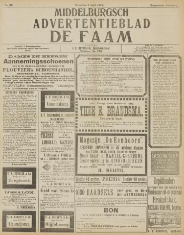 de Faam en de Faam/de Vlissinger 1915-04-07