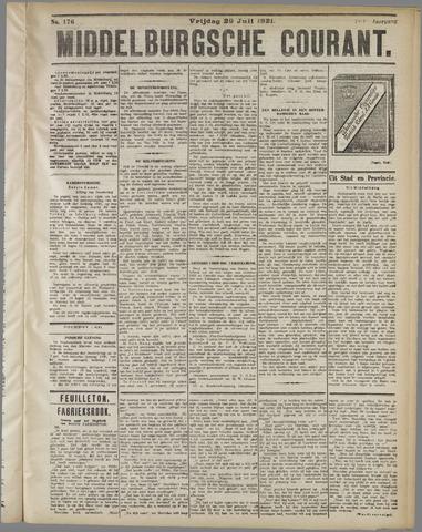 Middelburgsche Courant 1921-07-29