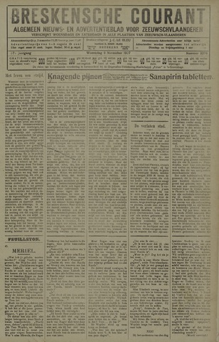 Breskensche Courant 1927-11-09