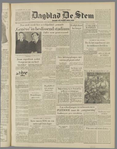 de Stem 1954-07-13