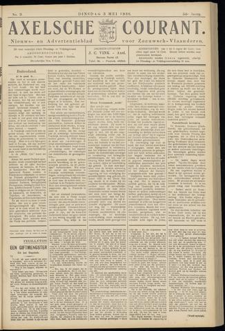 Axelsche Courant 1938-05-03