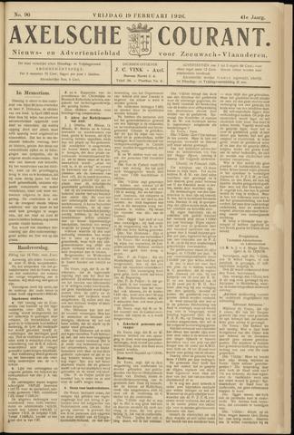 Axelsche Courant 1926-02-19