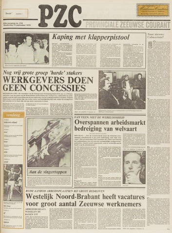 Provinciale Zeeuwse Courant 1979-09-13