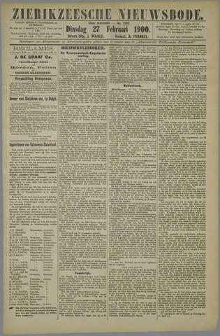 Zierikzeesche Nieuwsbode 1900-02-27