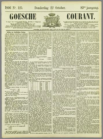 Goessche Courant 1896-10-22