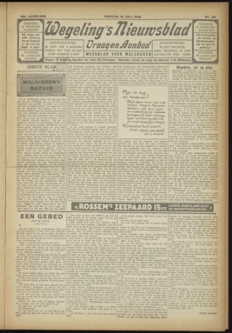 Zeeuwsch Nieuwsblad/Wegeling's Nieuwsblad 1929-07-12