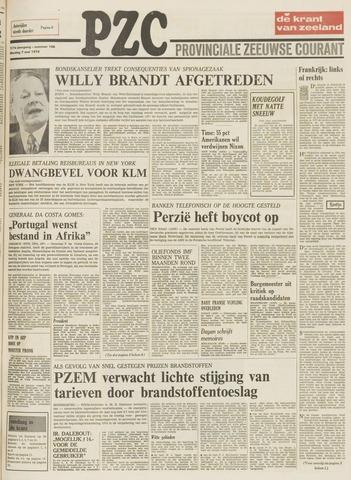 Provinciale Zeeuwse Courant 1974-05-07