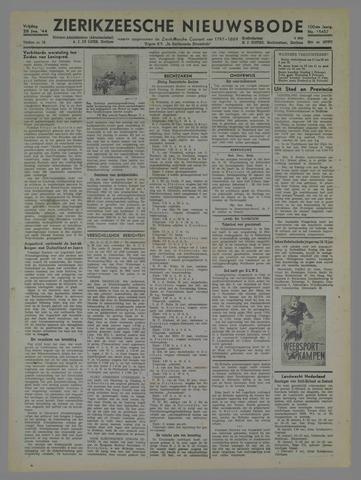 Zierikzeesche Nieuwsbode 1944-01-28