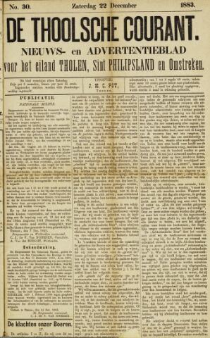 Ierseksche en Thoolsche Courant 1883-12-22