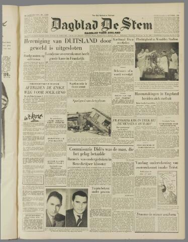 de Stem 1954-10-05