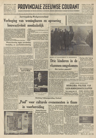 Provinciale Zeeuwse Courant 1958-11-14