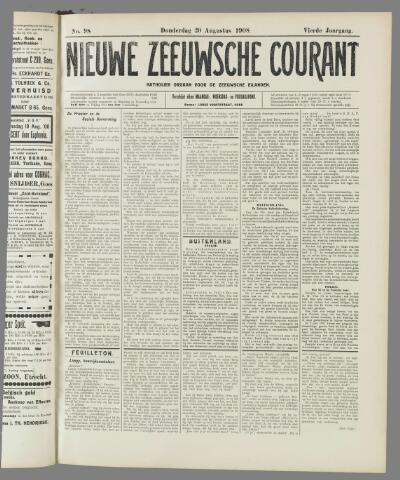 Nieuwe Zeeuwsche Courant 1908-08-20