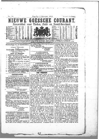 Nieuwe Goessche Courant 1872-12-03
