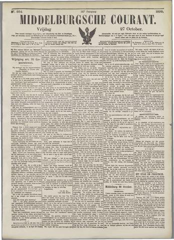 Middelburgsche Courant 1899-10-27