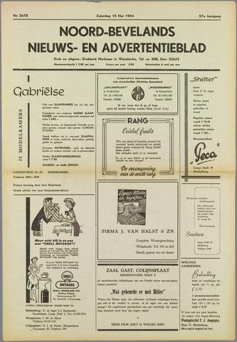 Noord-Bevelands Nieuws- en advertentieblad 1954-05-15