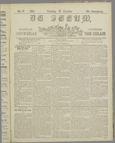 De Zeeuw. Christelijk-historisch nieuwsblad voor Zeeland 1911-10-13