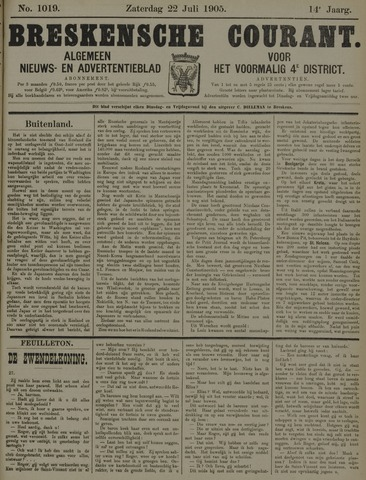 Breskensche Courant 1905-07-22
