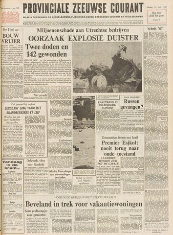Provinciale Zeeuwse Courant 1967-06-13