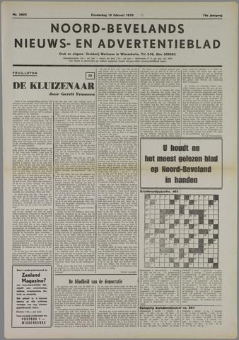 Noord-Bevelands Nieuws- en advertentieblad 1976-02-19