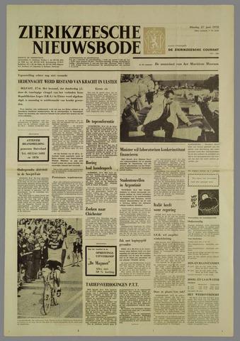 Zierikzeesche Nieuwsbode 1972-06-27