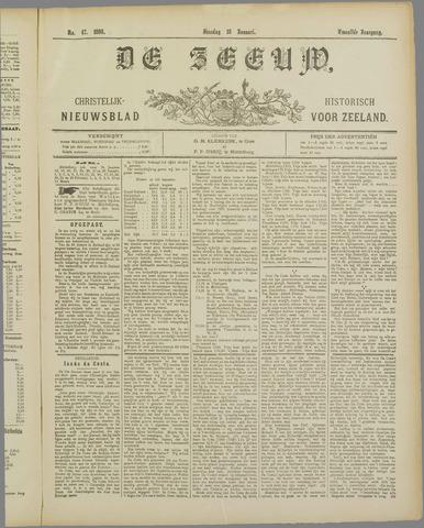 De Zeeuw. Christelijk-historisch nieuwsblad voor Zeeland 1898-01-18