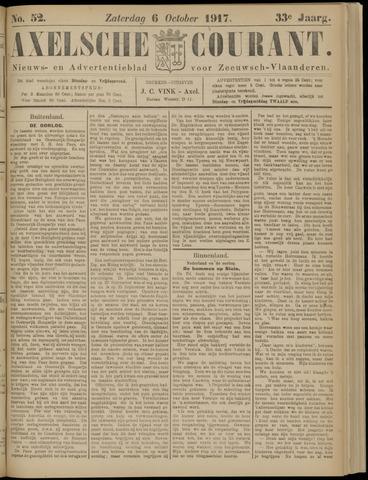 Axelsche Courant 1917-10-06