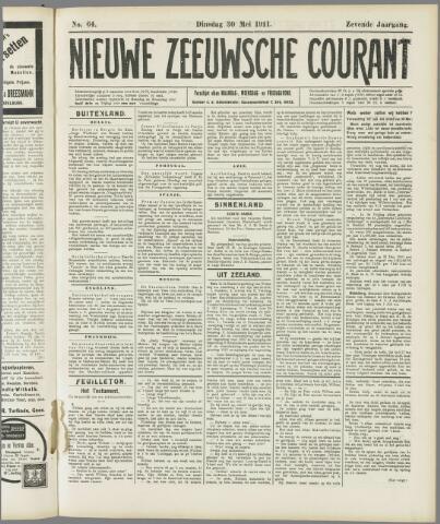 Nieuwe Zeeuwsche Courant 1911-05-30