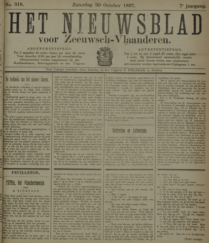 Nieuwsblad voor Zeeuwsch-Vlaanderen 1897-10-30