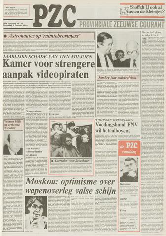 Provinciale Zeeuwse Courant 1984-02-01
