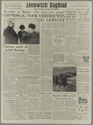 Zeeuwsch Dagblad 1959-02-23