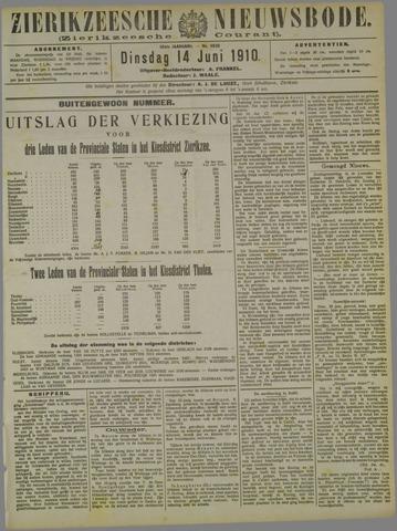 Zierikzeesche Nieuwsbode 1910-06-14
