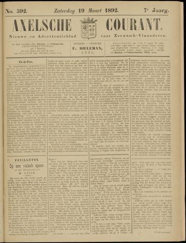 Axelsche Courant 1892-03-19