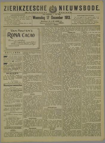 Zierikzeesche Nieuwsbode 1913-12-17