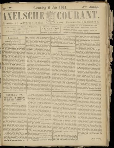 Axelsche Courant 1921-07-06