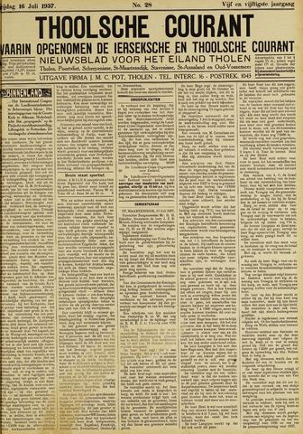 Ierseksche en Thoolsche Courant 1937-07-16