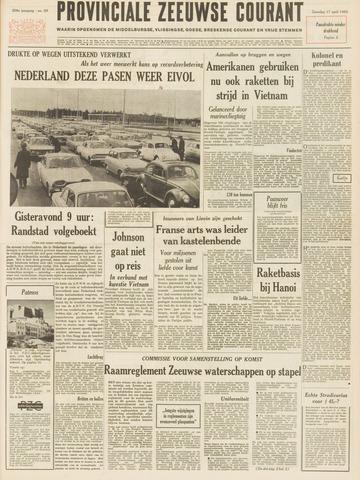 Provinciale Zeeuwse Courant 1965-04-17