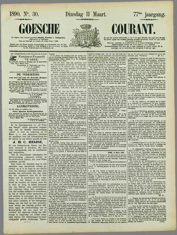 Goessche Courant 1890-03-11