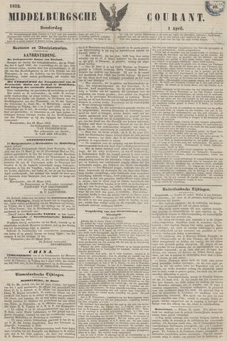 Middelburgsche Courant 1852-04-01