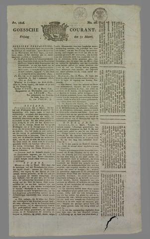 Goessche Courant 1826-03-31