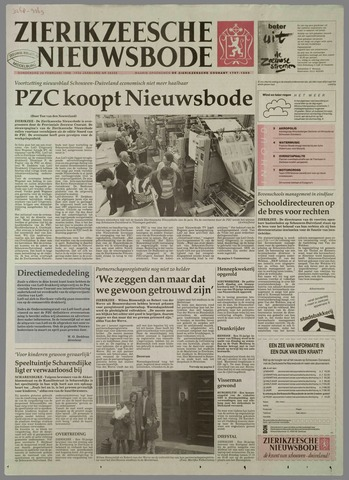Zierikzeesche Nieuwsbode 1998-02-26