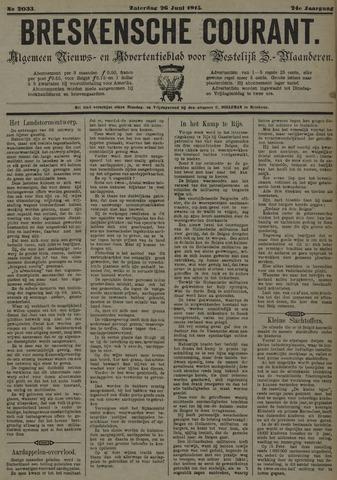 Breskensche Courant 1915-06-26