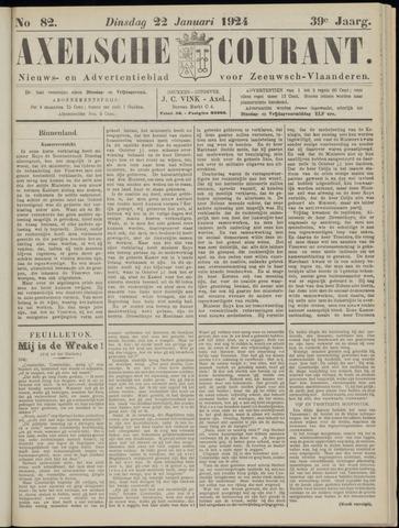 Axelsche Courant 1924-01-22