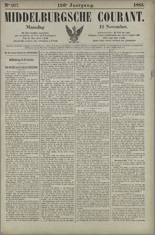 Middelburgsche Courant 1883-11-12
