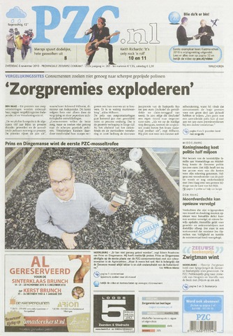 Provinciale Zeeuwse Courant 2010-11-06