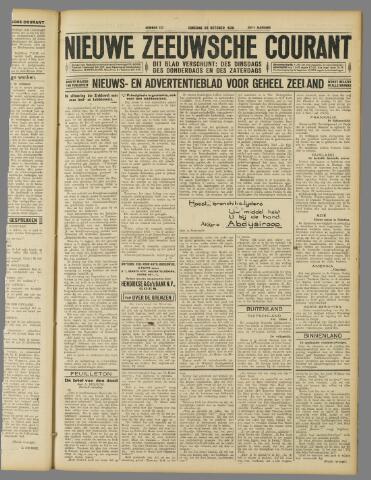 Nieuwe Zeeuwsche Courant 1929-10-29